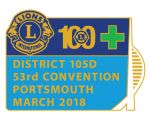 Portsmouth Convention Pin Badge